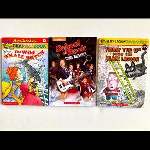 3 -pack chapter books